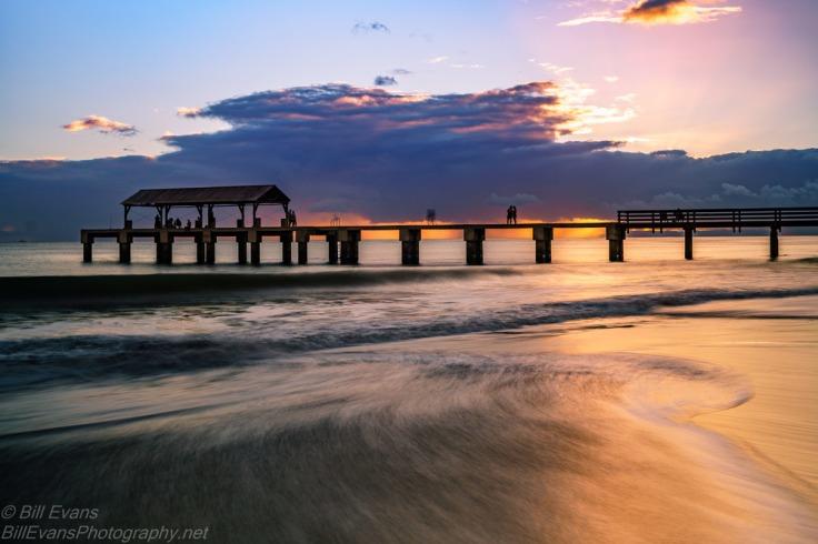 Waimea State Recreation Pier, Kauai, Hawaii (6 October 2015) Sony A7Rii + Canon TS-E 45mm/2.8 0.8s @ f/5.6 iso 100