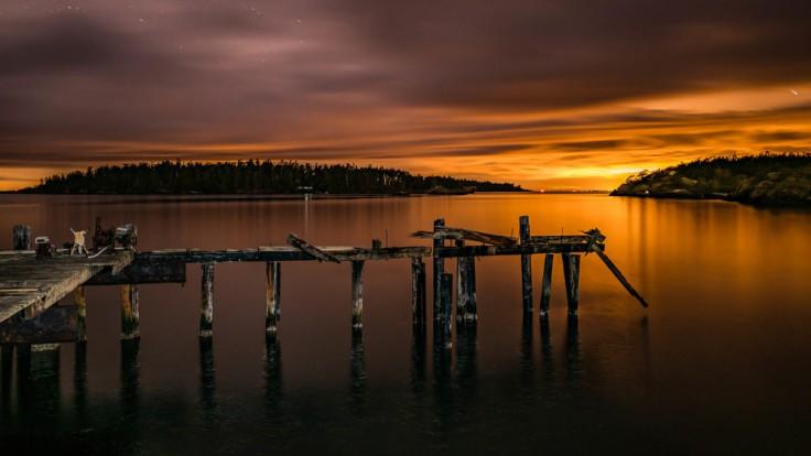 Old Richardson Fuel Dock, Lopez Island WA, 16 March 2016 Sony A7Rii + Nikon 20mm/1.8 185s @ f/? iso 400