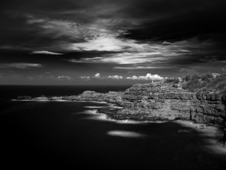 Nakalele Point LIghthouse Hasselblad X1D + Xpan Lens