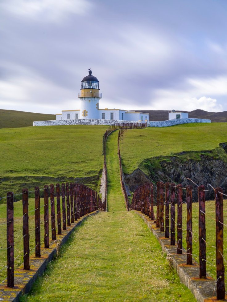 Fair Isle North Lighthouse (Skroo)
