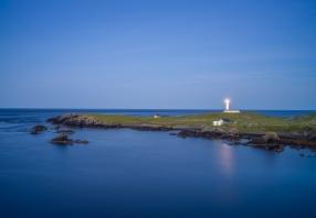 South Lighthouse - Fair Isle Scotland